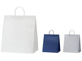 紙袋 ワンポイントバッグ(プラ取っ手タイプ)