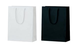 紙袋 ワンポイントバッグ(アクリル紐タイプ)